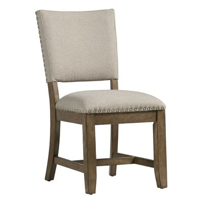 Alesha Brown Side Chair (Set of 2)