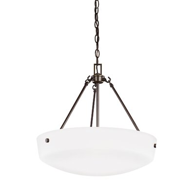 Joan 3-Light Inverted Pendant Finish: Heirloom Bronze