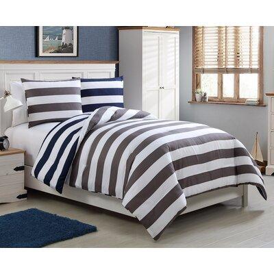 Rhinebeck Reversible Comforter Set Size: Twin
