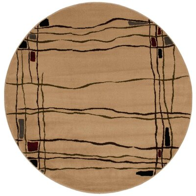 Rouseville Beige Area Rug Rug Size: Rectangle 710 x 106