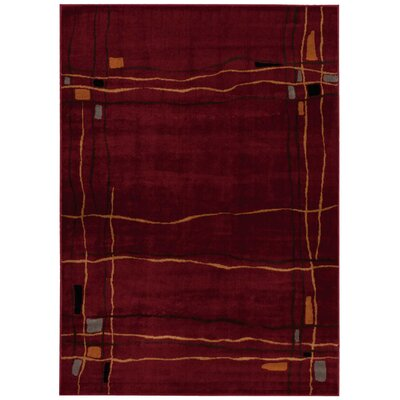 Rouseville Brick Area Rug Rug Size: 710 x 106