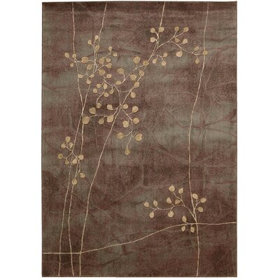 Smithtown Brown Area Rug Rug Size: 56 x 75