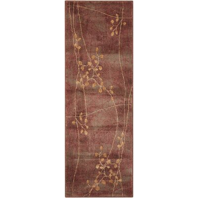 Smithtown Brown Area Rug Rug Size: Runner 2 x 59