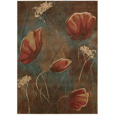 Smithtown Pattern Area Rug Rug Size: Rectangle 56 x 75