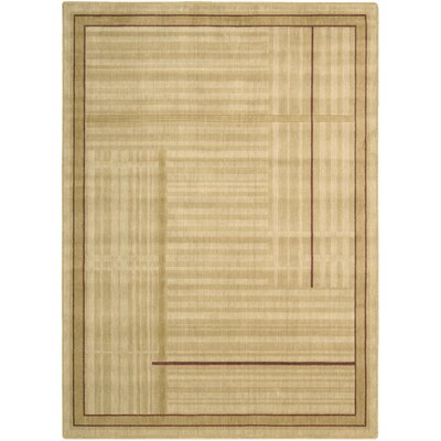 Smithtown Gold Area Rug Rug Size: Rectangle 56 x 75