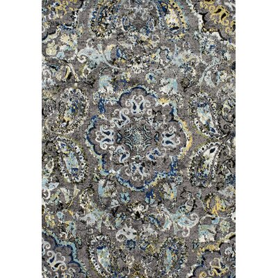 Stoneham Gray/Silver Area Rug Rug Size: Rectangle 9 x 12