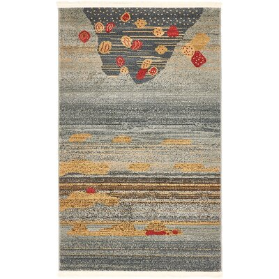 Simsbury Dark Blue Area Rug