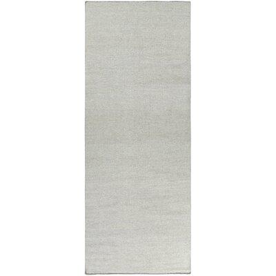 Aden Gray Area Rug Rug Size: Runner 26 x 8