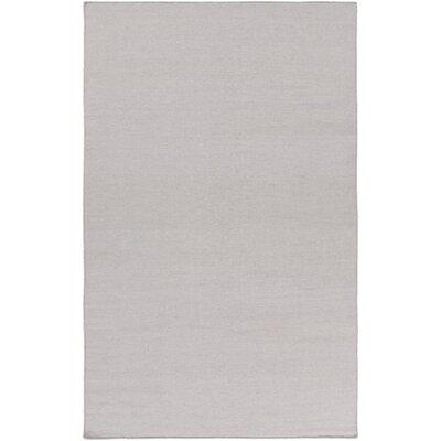 Aden Hand Woven Light Gray Area Rug Rug Size: 2 x 3