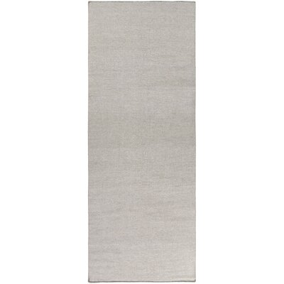 Aden Light Gray Area Rug Rug Size: Runner 26 x 8