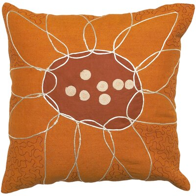Rockledge 100% Cotton Throw Pillow Cover Size: 22 H x 22 W x 0.25 D