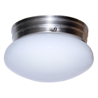 Graciela 1-Light Flush Mount Finish: Brushed Nickel