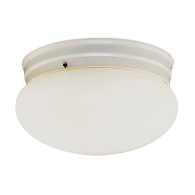 Graciela 1-Light Flush Mount Finish: White