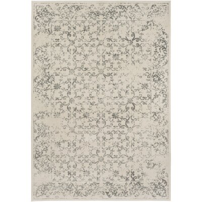 Wren Beige Area Rug Rug Size: Rectangle 53 x 76