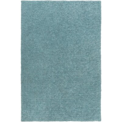 Infant Teal Area Rug Rug size: Rectangle 4 x 6