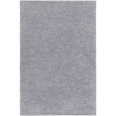 Infant Light Gray Area Rug Rug size: 4 x 6