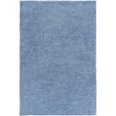 Infant Dark Blue Area Rug Rug size: 2 x 3