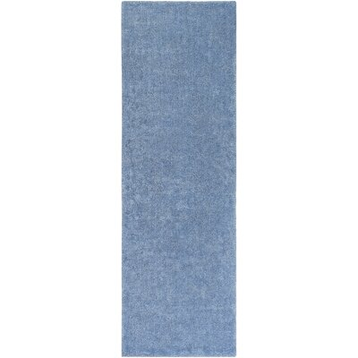 Infant Dark Blue Area Rug Rug size: Runner 26 x 8