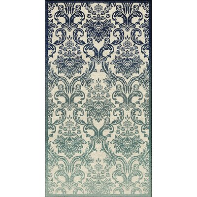 Abrianna Navy Area Rug Rug size: Rectangle 2'2