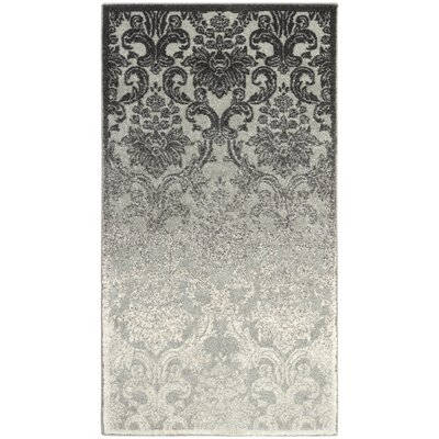 Abrianna Ivory Area Rug Rug size: Rectangle 22 x 4