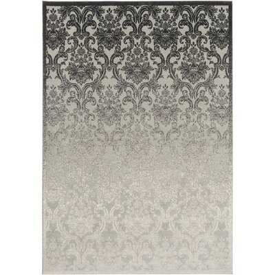 Abrianna Ivory Area Rug Rug size: Rectangle 5'3