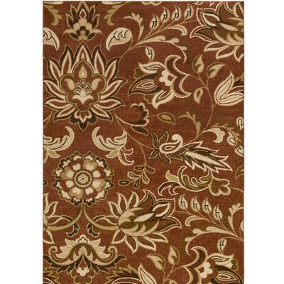 Demetria Floral and Paisley Multi Area Rug Rug Size: Rectangle 52 x 76