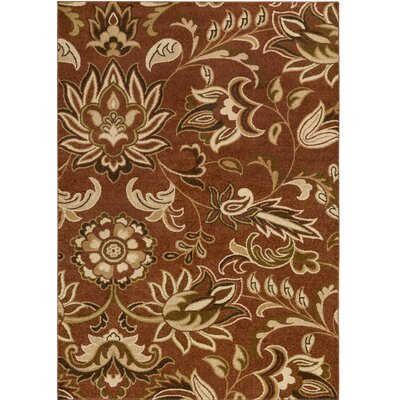 Demetria Floral and Paisley Multi Area Rug Rug Size: Rectangle 76 x 106