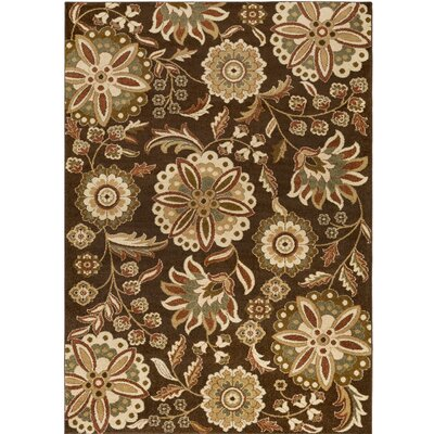 Demetria Brown/Beige Multi Area Rug Rug Size: Rectangle 22 x 3