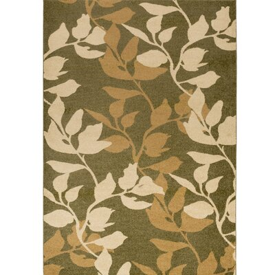 Demetria Plant Pattern Multi Area Rug Rug Size: Rectangle 22 x 3
