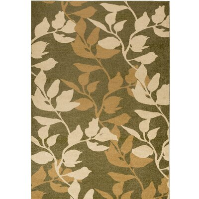 Demetria Plant Pattern Multi Area Rug Rug Size: Rectangle 52 x 76