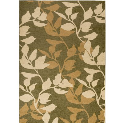 Demetria Plant Pattern Multi Area Rug Rug Size: Rectangle 76 x 106