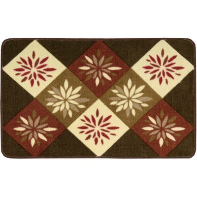 Shanda Brown Area Rug Rug Size: 23 x 39