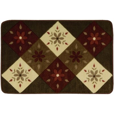 Shanell Brown Area Rug Rug Size: 23 x 39