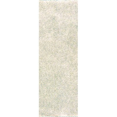 Martha Winter White Area Rug Rug Size: Runner 26 x 8