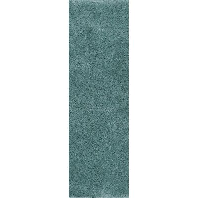 Martha Rugobins Egg Blue Area Rug Rug Size: 33 x 53