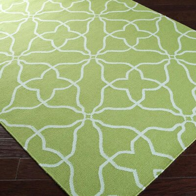 Haggerty Peridot/Pale Plaid Area Rug Rug Size: 8 x 11