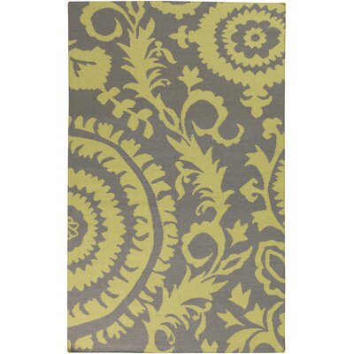 Haggerty Dove Gray Area Rug Rug Size: 5 x 8