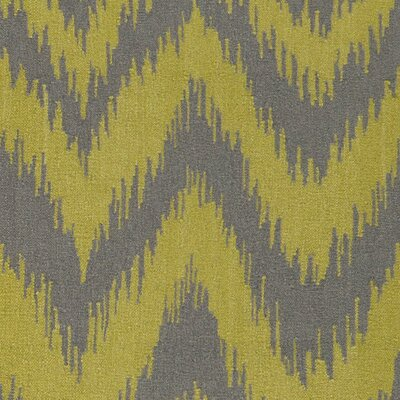 Lowery Wasabi/Gray Zig Zag Area Rug Rug Size: Rectangle 36 x 56