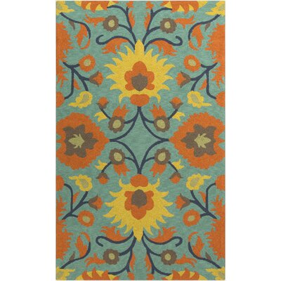 Tuscany Emerald & Kelly Green Indoor/Outdoor Rug Rug Size: 8 x 10