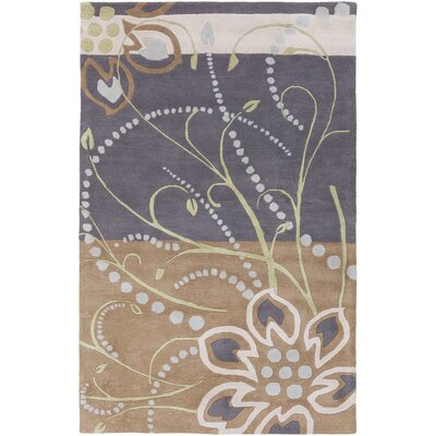 Hayden Floral Area Rug Rug Size: Rectangle 4 x 6
