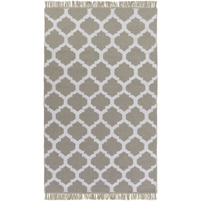 Derby Hand-Woven Gray Outdoor Area Rug Rug Size: 9 x 13
