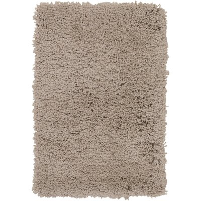 Martha Hand-Woven Brown Area Rug Rug Size: Rectangle 5 x 76