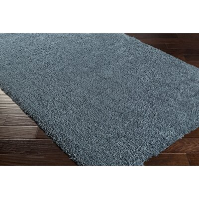 Martha Hand-Woven Blue Area Rug Rug Size: Rectangle 33 x 53