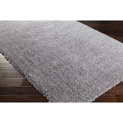 Surratt Hand-Woven Gray Area Rug Rug Size: 33 x 53