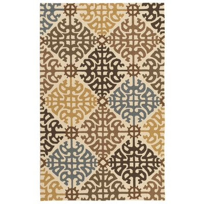 Cynthia Multi Indoor/Outdoor Rug Rug Size: 5 x 8