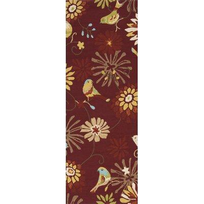 Darien Multi-Colored Indoor/Outdoor Area Rug Rug Size: Runner 26 x 8