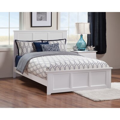 Marjorie Panel Bed Size: Full, Finish: White