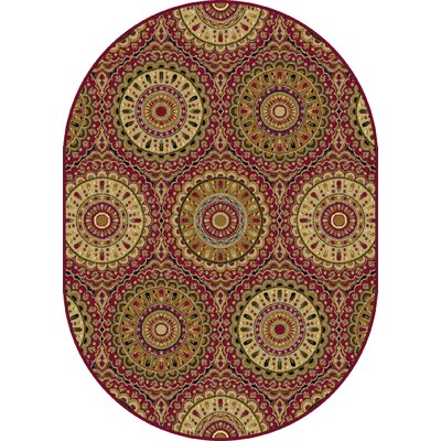 Scullin Area Rug Rug Size: Round 710