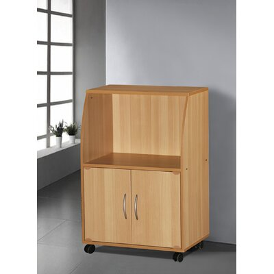 Russellton Microwave Cart Base Finish: Beech