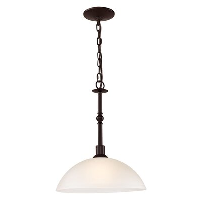 Glen Forest 1-Light Bowl Pendant